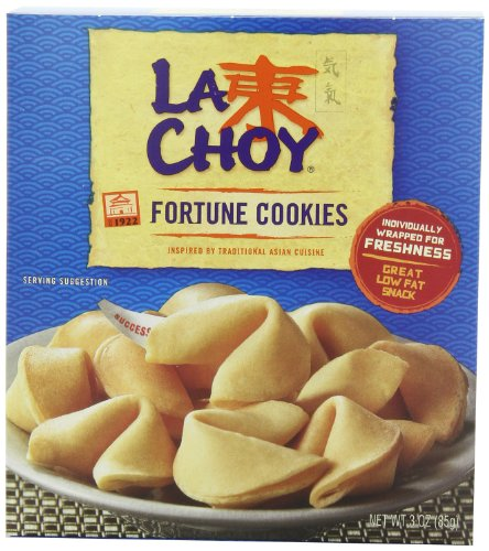 La Choy Fortune Cookies, 3-Ounce Boxes (Pack of 12)