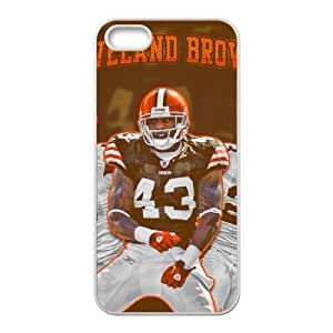Cleveland Browns iPhone 4 4s Cell Phone Case White SVD_585869