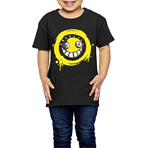CaCaJessica Overwatch Junkrat-3 Child's T-Shirt for Girls & Boys Black 4 Toddler