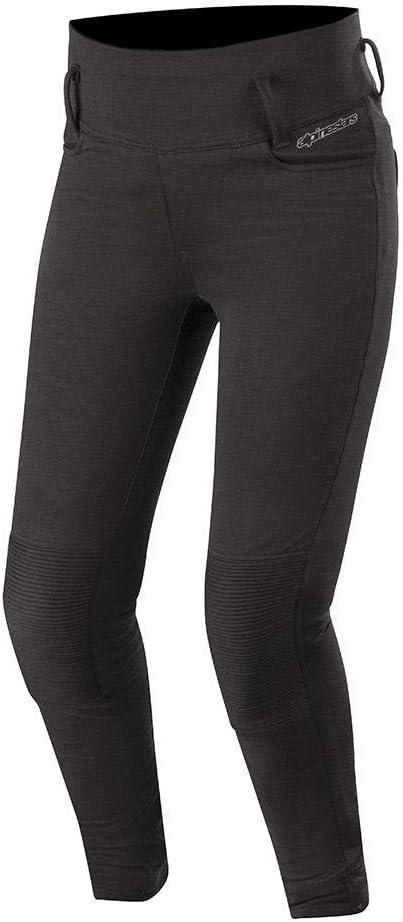 Alpinestars Banshee - Leggins de moto para mujer, color negro, talla S