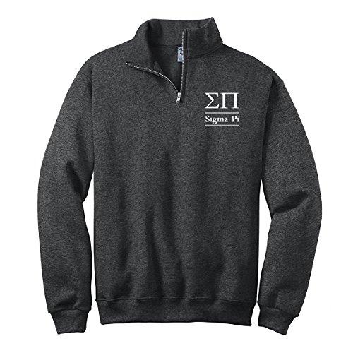 Quarter Zip Pullover Letter - 5