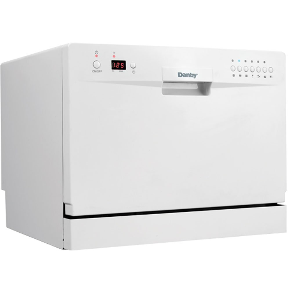 Danby DDW611WLED Countertop Dishwasher - White