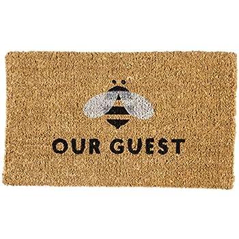 Amazon Com Abbott Coir Fibre Doormat Bee In Crest