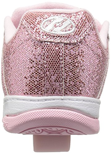 Heelys Split, Zapatillas Unisex Niños Varios colores (Light Pink Disco Glitter)