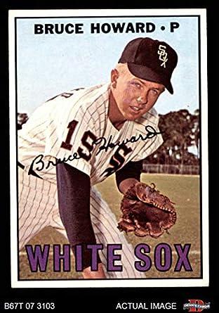 1966 Topps #281 Bruce Howard Chicago White Sox Baseball Card