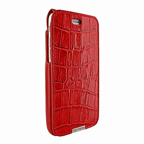 Piel Frama 685 Red Crocodile iMagnum Leather Case for Apple iPhone 6 Plus / 6S Plus / 7 Plus / 8 Plus by Piel Frama (Image #1)