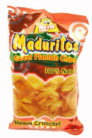 Sweet Plantain Chips / Maduritos Dulcesitos 3.3oz 2 Pack
