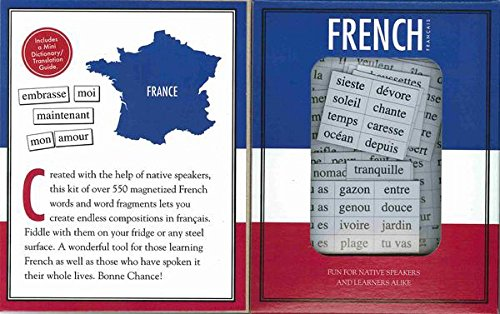 Magnetic Poetry - French Kit - Words for Refrigerator - W...