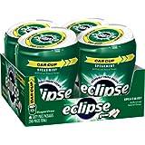 Eclipse Spearmint Sugarfree Gum 60 piece Bottle (Pack of 4)