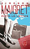 img - for Pietr Le Letton (Ldp Simenon) (French Edition) book / textbook / text book
