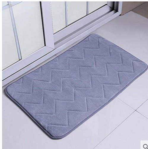 Bathroom mats/foot pad/toilet/bathroom door mats/non-slip suction bath mat-F 140x200cm(55x79inch) by DUSPLOT