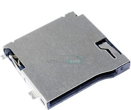 Ponis-Limos 20Pcs TransFlash TF Micro Memory SD Card Self-eject Socket Plug Adapter