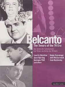 Belcanto: Tenors of the 78 Era 2