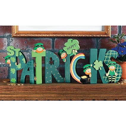 Amazoncom Happy St Patricks Day Screen Block Green Irish