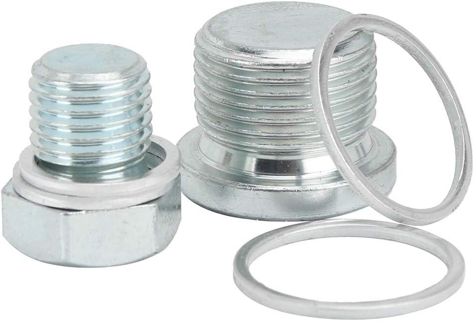 64 St/ück//Set Autowartungswerkzeuge Aluminiumwanne /Ölwanne Gewinde Reparatur Getriebe Ablassschraube Kit