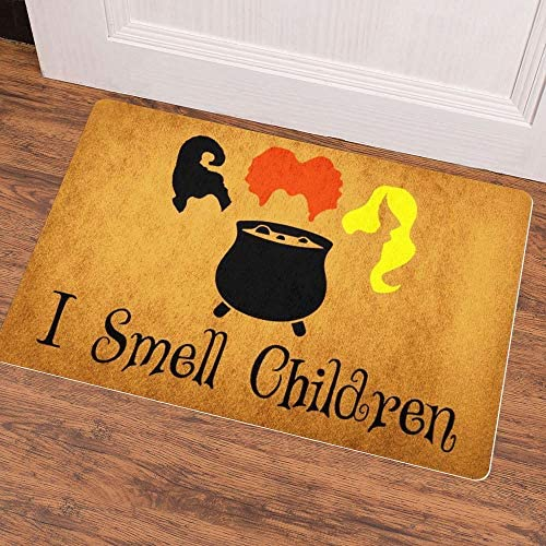 Ruiyida As Seen On MTV Cribs Entrance Floor Mat Funny Doormat Door Mat Decorative Indoor Outdoor Doormat Non-Woven 23.6 by 15.7 Inch Machine Washable Fabric Top