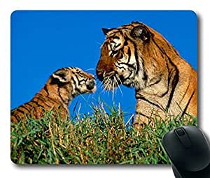 Baby Cute Funny Tiger Easter Thanksgiving Personlized Masterpiece Limited Design Oblong Mouse Pad by Cases & Mousepads by icecream design