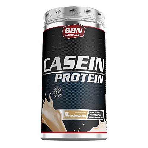 Best Body Nutrition Casein Protein, 500g Dose , Macadamia Nuss (5er Pack)