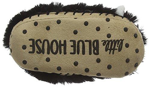 Hatley Lbh - Bear Paws - Zapatillas de estar por casa de sintético para niño negro - negro