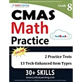 CMAS Test Prep: 8th Grade Math Practice Workbook and Full-length Online Assessments: Colorado Measures of Academic Success Study Guide