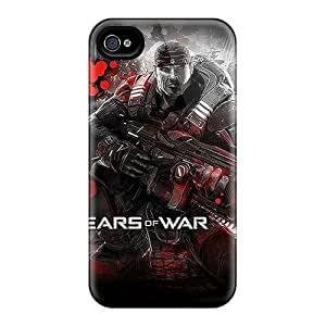 Iphone 4/4s XWJ8761OKjE Allow Personal Design Stylish Gears Of War Image Great Cell-phone Hard Cover -AaronBlanchette