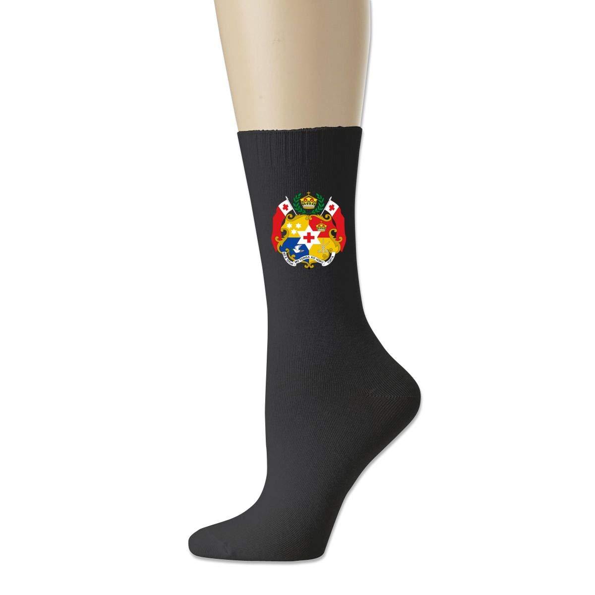 Rigg-socks Coat Of Arms Of Tonga Mens Comfortable Sport Socks Gray