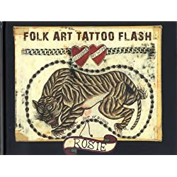 Folk Art Tattoo Flash