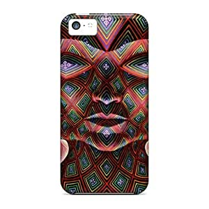 Flexible Tpu Back Case Cover For iPhone 6 4.7 - Skull Art
