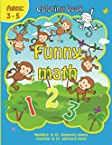 img - for Coloring Book with Funny Math: Coloring Book with Numbers,Animals,Fruits for Kids Ages 3-5 Funny Calculation, Early Learning Drawing, Addition and Substract book / textbook / text book