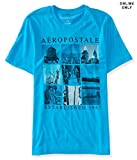 Aeropostale Men's Nyc Scenes Logo Graphic T Shirt Xl Mexicali Blue