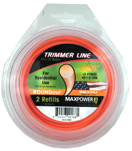 Maxpower 333095 Residential Grade Round .095-Inch Trimmer Line 40-Foot Length ()