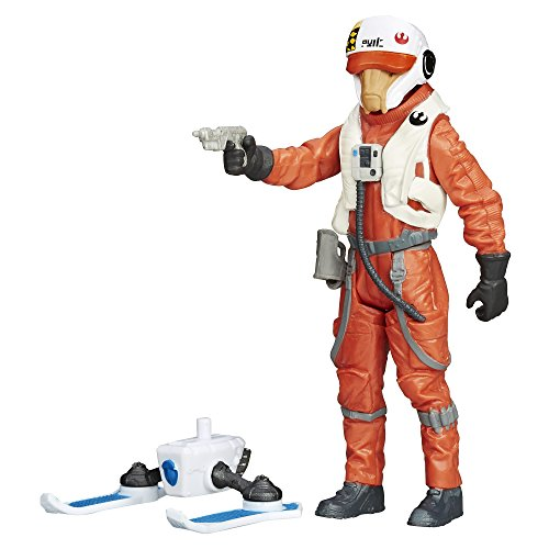 Star Wars The Force Awakens 3.75-Inch Figure Snow Mission Wave 2 X-Wing Pilot -