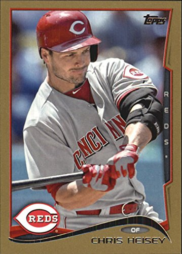 2014 Topps Gold #23 Chris Heisey /2014 - NM