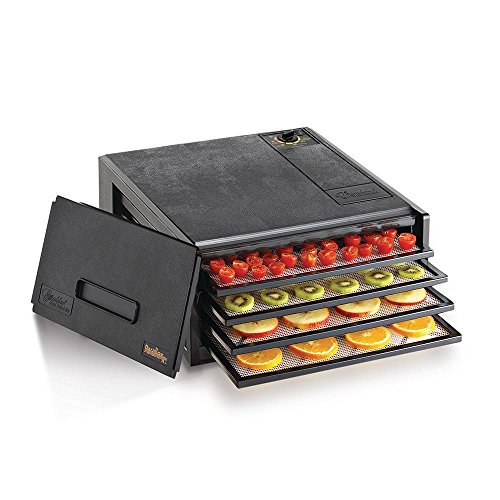 2400 4-Tray Economy Dehydrator, Black Useful Product