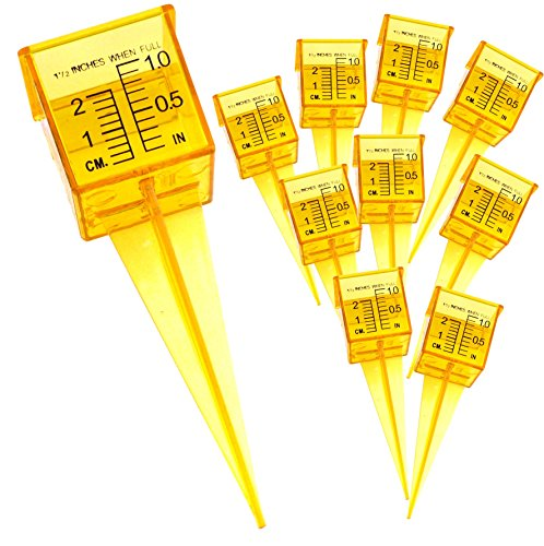Plastic Rain Gauges - Ten Pack 1.5