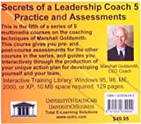 Secrets of a Leadership Coach : Practice and Assessments, Farb, Daniel and Goldsmith, Marshall, 1932634045