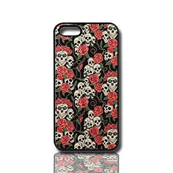 Carcasa Funda Para Movil Compatible Con Iphone 5c Calaveras