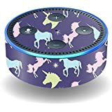 MightySkins Skin for Amazon Echo Dot (2ND Gen) - Unicorn Dream | Protective, Durable, and Unique Vinyl Decal wrap cover | Easy to Apply, Remove, and Change Styles | Made In The USA …