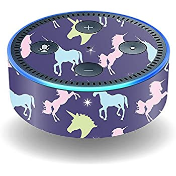 MightySkins Skin for Amazon Echo Dot (2nd Gen) - Unicorn Dream | Protective, Durable, and Unique Vinyl Decal wrap Cover | Easy to Apply, Remove, ...