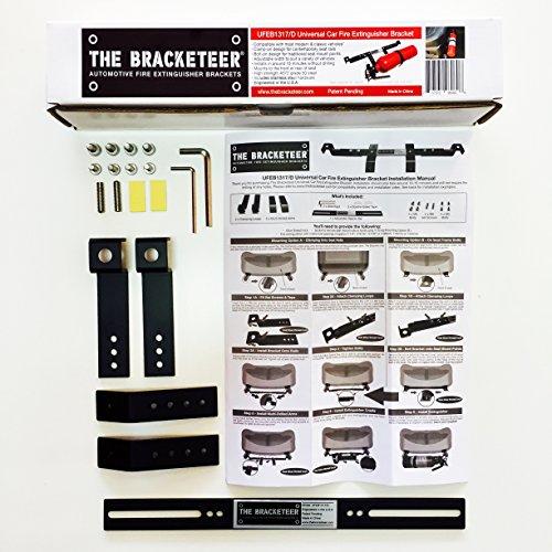 6 Bracketeer+Extinguisher+Bracket+Universal+Vehicles
