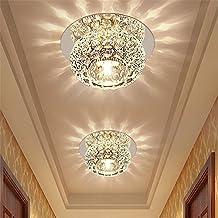 Modern LED Pendant Flush Mount Ceiling Fixtures Light Crystal light spotlight led ceiling light entrance light cattle eye down lamp creative ceiling lamp, 100mm