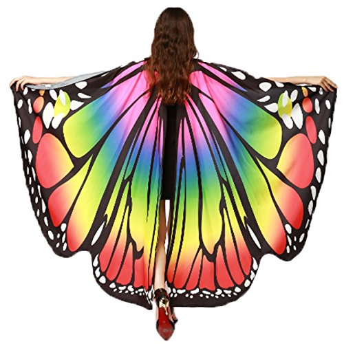 Shireake Baby Christmas/Party Prop Soft Fabric Butterfly Wings