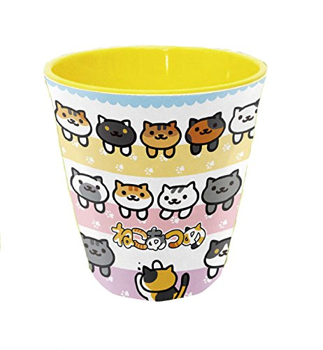 Neko Atsume Melamine Cup (Cats Gathered) Morimotosangyo Co. ltd.