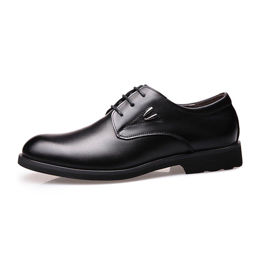 LEDLFIE Herren Lederschuhe Business Lederschuhe Mode Kleid Schuhe Freizeitschuhe  | Starker Wert