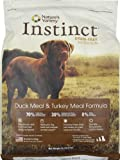 Instinct Grain-Free Duck Meal and Turkey Meal Dry Dog Food by Nature's Variety, 13.2-Pound Package, My Pet Supplies