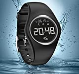 feifuns Calorie Counter, IP68 Swim Watch Waterproof Activity Tracker Pedometer Step Counter/Accurately Track Steps/Distance/Calorie/Clock/Timer Walking Running Kids Men Women(Non-Bluetooth Need)