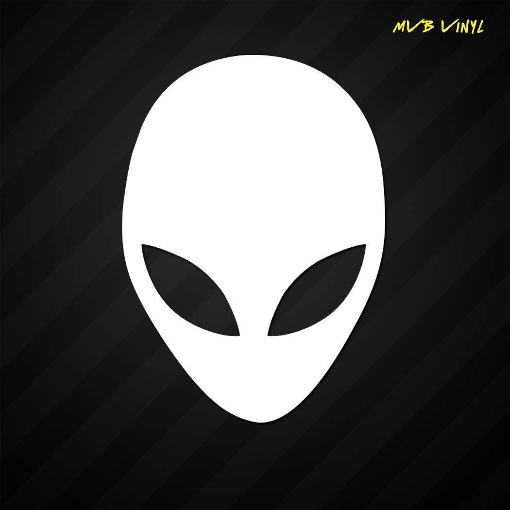 Alien Head Vinyl Decal StickerAliens Face Believe Urban Legend 654