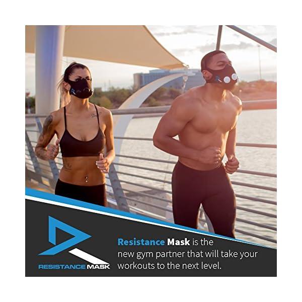 Training Mask Elevation Basic per allenamenti, running, sport, HIIT training [1anno di garanzia] 3 spesavip