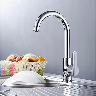 Qin & X Kitchen Sink Licuadora grifo único mando: Amazon.es ...
