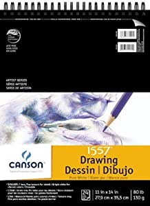Canson C100510941 9 in. x 12 in. Watercolor Cold Press Sheet Pad by Canson